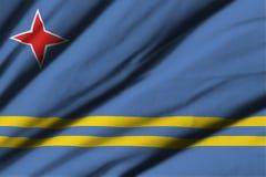 σημαία του Aruba Στοκ εικόνες με δικαίωμα ελεύθερης χρήσης
