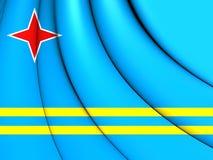 σημαία του Aruba Στοκ Εικόνες