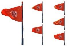 Σημαία του OM Στοκ Φωτογραφίες