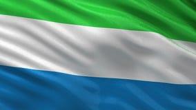 Σημαία του Sierra Leone - άνευ ραφής βρόχος ελεύθερη απεικόνιση δικαιώματος