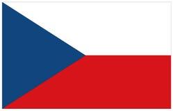 Σημαία Τσεχιών Στοκ φωτογραφίες με δικαίωμα ελεύθερης χρήσης