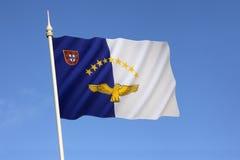 Σημαία των Αζορών στοκ φωτογραφίες με δικαίωμα ελεύθερης χρήσης
