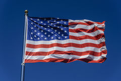 Σημαία των Ηνωμένων Πολιτειών της Αμερικής στοκ φωτογραφία με δικαίωμα ελεύθερης χρήσης