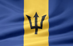 σημαία των Μπαρμπάντος ελεύθερη απεικόνιση δικαιώματος