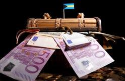 Σημαία των Μπαχαμών πάνω από το κλουβί Στοκ Εικόνες