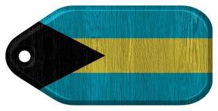 Σημαία των Μπαχαμών Στοκ Φωτογραφίες