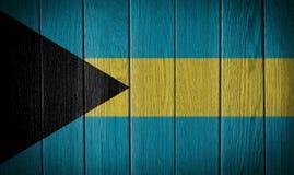 σημαία των Μπαχαμών Στοκ Φωτογραφία