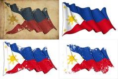Σημαία των Φιλιππινών Στοκ Εικόνες