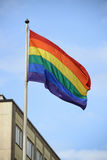 Σημαία υπερηφάνειας Στοκ φωτογραφία με δικαίωμα ελεύθερης χρήσης