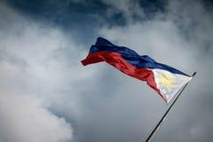 σημαία φιλιππινέζικη στοκ εικόνες