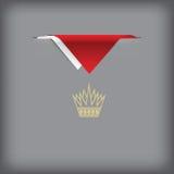 Σημαία χρωμάτων του Μπαχρέιν Στοκ Φωτογραφία