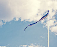 σημαία Στοκ φωτογραφία με δικαίωμα ελεύθερης χρήσης