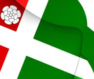 Σημαία Aldtsjerk, Netherland Στοκ φωτογραφία με δικαίωμα ελεύθερης χρήσης