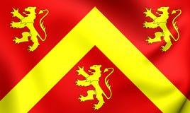 Σημαία Anglesey, Ουαλία Στοκ Φωτογραφίες