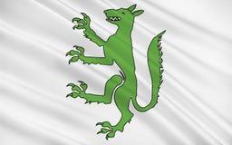 Σημαία Belley, Γαλλία ελεύθερη απεικόνιση δικαιώματος