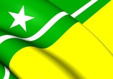 Σημαία Boa Vista της πόλης Roraima, Βραζιλία Στοκ φωτογραφίες με δικαίωμα ελεύθερης χρήσης