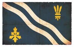 Σημαία Grunge ευρύτερης περιοχής Οξφόρδης Μεγάλη Βρετανία Στοκ Εικόνες