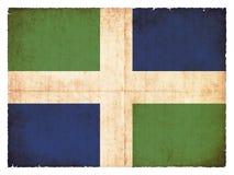 Σημαία Grunge ευρύτερης περιοχής Οξφόρδης Μεγάλη Βρετανία Στοκ εικόνα με δικαίωμα ελεύθερης χρήσης