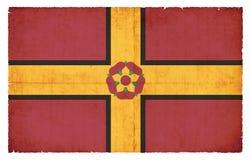 Σημαία Grunge της Μεγάλης Βρετανίας Northamptonshire Στοκ Εικόνες