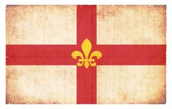 Σημαία Grunge του Λίνκολν Μεγάλη Βρετανία Στοκ Φωτογραφία