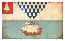 Σημαία Grunge του Μπέλφαστ Βόρεια Ιρλανδία Στοκ φωτογραφία με δικαίωμα ελεύθερης χρήσης