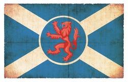 Σημαία Grunge του νησιού της Skye Σκωτία Στοκ Εικόνες