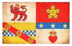 Σημαία Grunge του Angus Σκωτία Στοκ Εικόνες