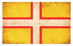 Σημαία Grunge του Dorset Μεγάλη Βρετανία Στοκ Εικόνα