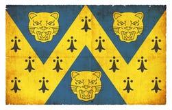 Σημαία Grunge του Shropshire Μεγάλη Βρετανία Στοκ εικόνα με δικαίωμα ελεύθερης χρήσης