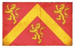Σημαία Grunge Anglesey Ουαλία Στοκ φωτογραφία με δικαίωμα ελεύθερης χρήσης