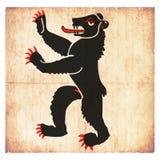Σημαία Grunge Appenzell εσωτερικό Rhoden Ελβετία Στοκ Εικόνες