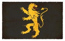 Σημαία Grunge Ceredigion Ουαλία Στοκ Εικόνες