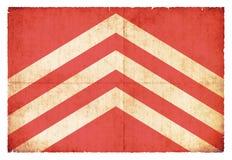 Σημαία Grunge Glamorgan Ουαλία Στοκ Εικόνες