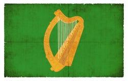 Σημαία Grunge Leinster Ιρλανδία Στοκ Εικόνες