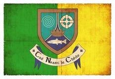 Σημαία Grunge Meath Ιρλανδία Στοκ εικόνες με δικαίωμα ελεύθερης χρήσης
