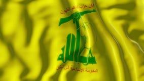 Σημαία Hezbollah απόθεμα βίντεο