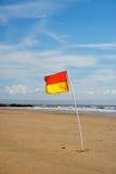 σημαία lifeguard Στοκ Φωτογραφίες