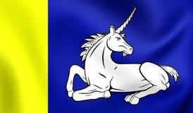 Σημαία Menameradiel, Netherland Στοκ φωτογραφία με δικαίωμα ελεύθερης χρήσης