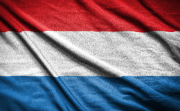 σημαία netherland σημαία στο υπόβαθρο Στοκ φωτογραφία με δικαίωμα ελεύθερης χρήσης