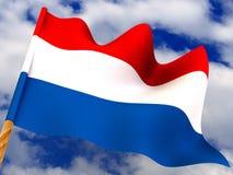 σημαία netherland Στοκ Εικόνες