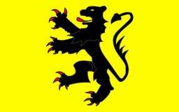 Σημαία nord-χορευτικό βήμα-de-Calais-Picardie, Γαλλία στοκ εικόνες με δικαίωμα ελεύθερης χρήσης