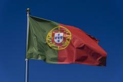 Σημαία Potugal Στοκ φωτογραφία με δικαίωμα ελεύθερης χρήσης