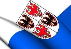 Σημαία trentino-Alto Adige, Ιταλία ελεύθερη απεικόνιση δικαιώματος