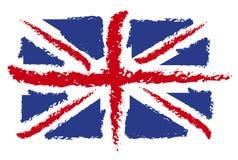 σημαία UK Στοκ Εικόνα