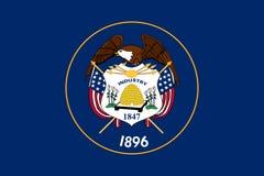 σημαία Utah Στοκ Φωτογραφία