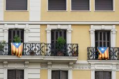 Σημαίες ανεξαρτησίας στοκ φωτογραφία με δικαίωμα ελεύθερης χρήσης