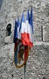 σημαίες γαλλικά στοκ εικόνα με δικαίωμα ελεύθερης χρήσης