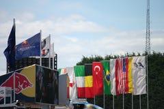 σημαίες εθνικές Στοκ Φωτογραφίες