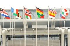σημαίες εθνικές Στοκ Εικόνα
