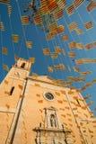 Σημαίες εκκλησιών και διακοπών Στοκ Φωτογραφίες